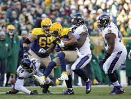 Green Bay Packers Flags Ravens Force 5 Tos Rout Struggling Packers 23 0 Boston Herald