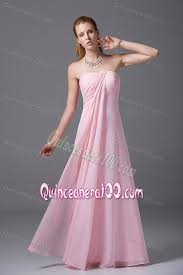 light pink dama dresses strapless light pink dama dress with ruches in chiffon quinceanera 100