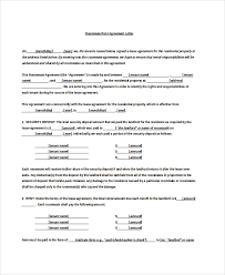 11 rental agreement letter templates u2013 free sample example