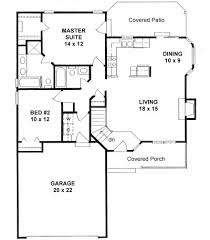 Ranch Floor Plans With Basement by Plan 1075 Ranch Style Very Popular Small House Plan House
