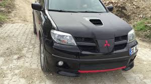 outlander mitsubishi 2006 mitsubishi outlander 2 0 mt turbo 288 hp evo 9 yazılımı youtube