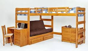 Bunk Bed L Shape L Shaped Bunk Bed With Stairs Gusciduovo