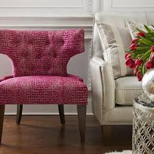 Gold Accent Chair Glitz Tufted Accent Chair Pink U0026 Gold Scenario Home