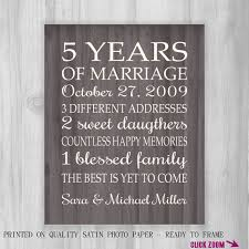 5 year anniversary gift for wedding anniversary 5 years gift ideas gift ideas bethmaru