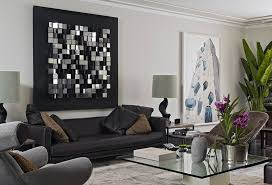 Living Room Stylish Apartment Living Room Wall Decor Ideas With