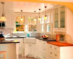 charming corner kitchen island home furnishings style lighting for