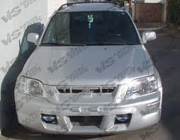 01 honda crv 1997 2001 honda crv 4dr techno r front bumper vis racing sports inc
