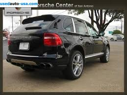 used porsche cayenne turbo s for sale 2009 passenger car porsche cayenne turbo s san antonio