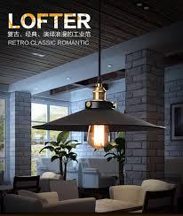 round 40w led ceiling light fixture l bedroom kitchen retro hanging lights loft round pendant light black mental warehouse