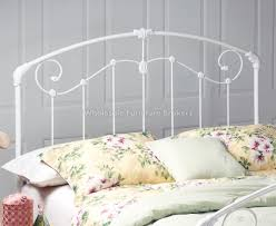 white metal headboards inspire q giselle antique white graceful