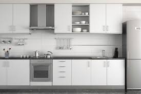 metal kitchen cabinets white cabinets brown high gloss wood