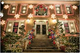 dyker heights christmas lights nyc elopement and proposal