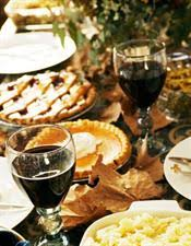 for your teeth thanksgiving dinner is a real food fight