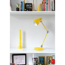task lamp english mustard yellow desk lamp wild wood