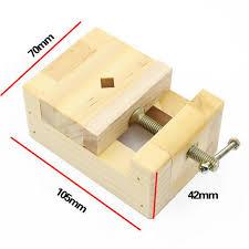 Catok Kayu shop 120 90 56mm diy alat mini datar tang catok penjepit meja