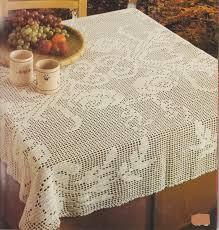 filet de peche decoratif crochet nappe carree et rectangle le blog de crochet et tricot d