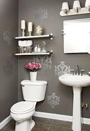 bathroom shelf decorating ideas a soft inviting budget friendly bathroom remodel for less than