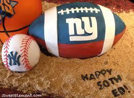 ny giants cake sweetelement