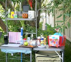 charlys room organizing a camping kitchen
