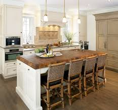 rustic butcher block dining room table soapstone del or butcher