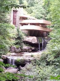 house was built over a waterfall picture of fallingwater mill