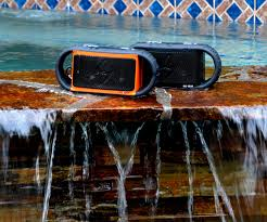 Ecoxgear Rugged And Waterproof Stereo Boombox Ecoxgear Ecoxbt Rugged U0026 Waterproof Bluetooth Speaker W 10 Hour