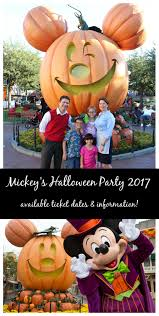 mickey u0027s halloween party dates for 2017 at disneyland