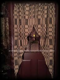 Primitive Curtians by Primitive Lined Curtains Black Tan Primitives