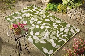 Waterproof Outdoor Rugs Green Outdoor Mat Rug Patio Deck Porch Weatherproof Leaf 72