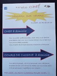 cours de cuisine nevers h elo chef home
