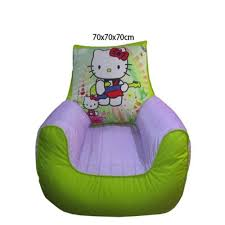 Hello Kitty Toddler Sofa Buy Relaxsit Hello Kitty Bean Bag Sofa For Kids Green Online At