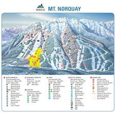 Utah Ski Resort Map by Banff Mt Norquay Trail Map Liftopia