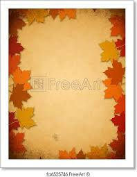 free print of thanksgiving leaves on an paper