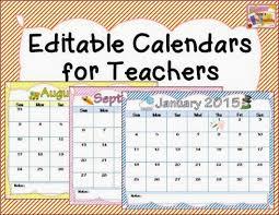 10 best images of calendars for teachers monthly calendar