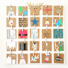 diy advent calendar camp