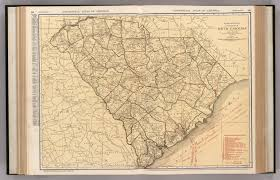 State Map Of South Carolina by South Carolina David Rumsey Historical Map Collection