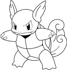 pokemon prints kids coloring