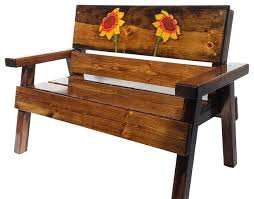 Engraved Benches Bench Excellent Rustic Wooden Stone Garden Benches Intended For