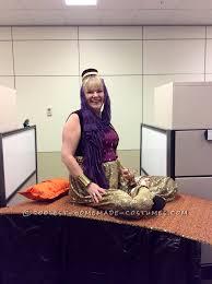 Halloween Illusion Costumes Cool Homemade Genie Flying Carpet Illusion Costume