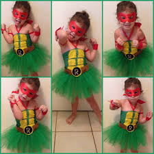 Teenage Mutant Ninja Turtles Halloween Costumes Girls Homemade Ninja Turtle Costume Bigdiyideas