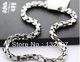 stainless mens necklace images 24 39 interlock bones chain stainless steel jewelry men 39 s necklace jpg