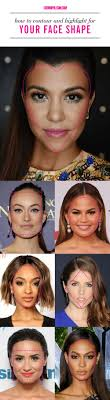 how to contour for your face shape best way to use contouring makeup and highlighters