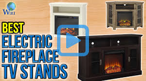 top 10 electric fireplace tv stands of 2017 video review