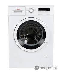 bosch 6 5 kg wak20165in fully automatic front load washing machine