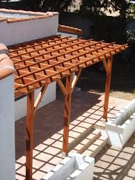 Attaching Pergola To House by Pergola Attached Directly To The House Do It Yourself Home