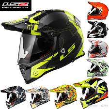 helmet motocross 2016 new ls2 double lens motocross motorcycle helmet male summer