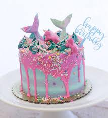 mermaid cakes the trendiest kids birthday cakes on instagram