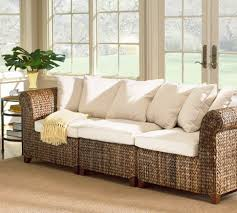 Pottery Barn Sectional Couches Sofa Beds Design Latest Trend Of Modern Seagrass Sectional Sofa