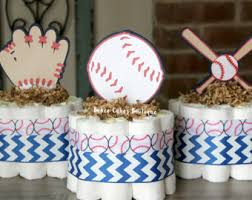 baseball centerpieces 3 tier baseball cake boys baseball baby shower sports