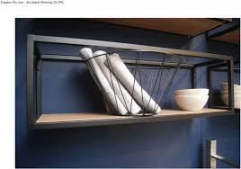 cuisine design toulouse détails étagères type loft industriel en mural collection et